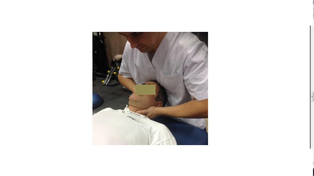 Sobre grados de movimiento, sensaciones y cervical lateral glide. (2/2)